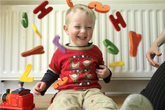Grammar May Be Hidden in Toddler Babble