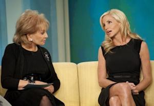 "Barbara Walters and Camille Grammer on ""The View,"" NYC, Jan. 31, 2011 -- ABC"