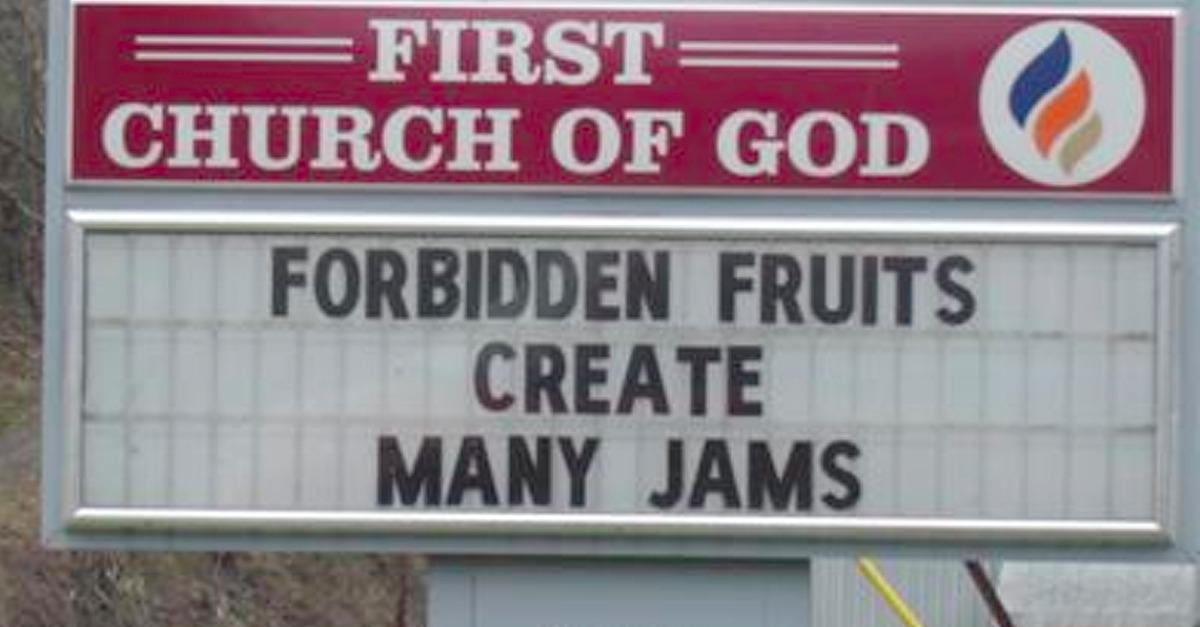 You haven't seen Church Signs as funny as these!