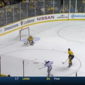 Pekka Rinne Save on Taylor Hall (10:28/1st)