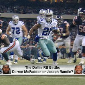 Who to draft, Dallas Cowboys running back Darren McFadden or Joseph Randle?