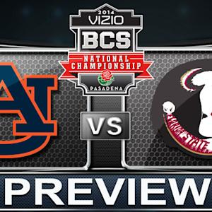 Road to the BCS Title | FSU vs Auburn Rush Attack