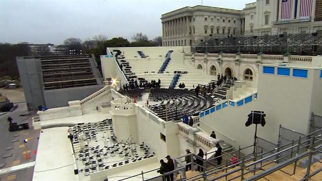 Inauguration rehearsals underway