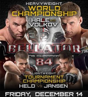 Bellator 84 Results: Alexander Volkov Captures Heavyweight Crown, Lightweights Cancelled