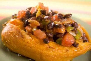 Black Bean Chili with Sweet Potatoes