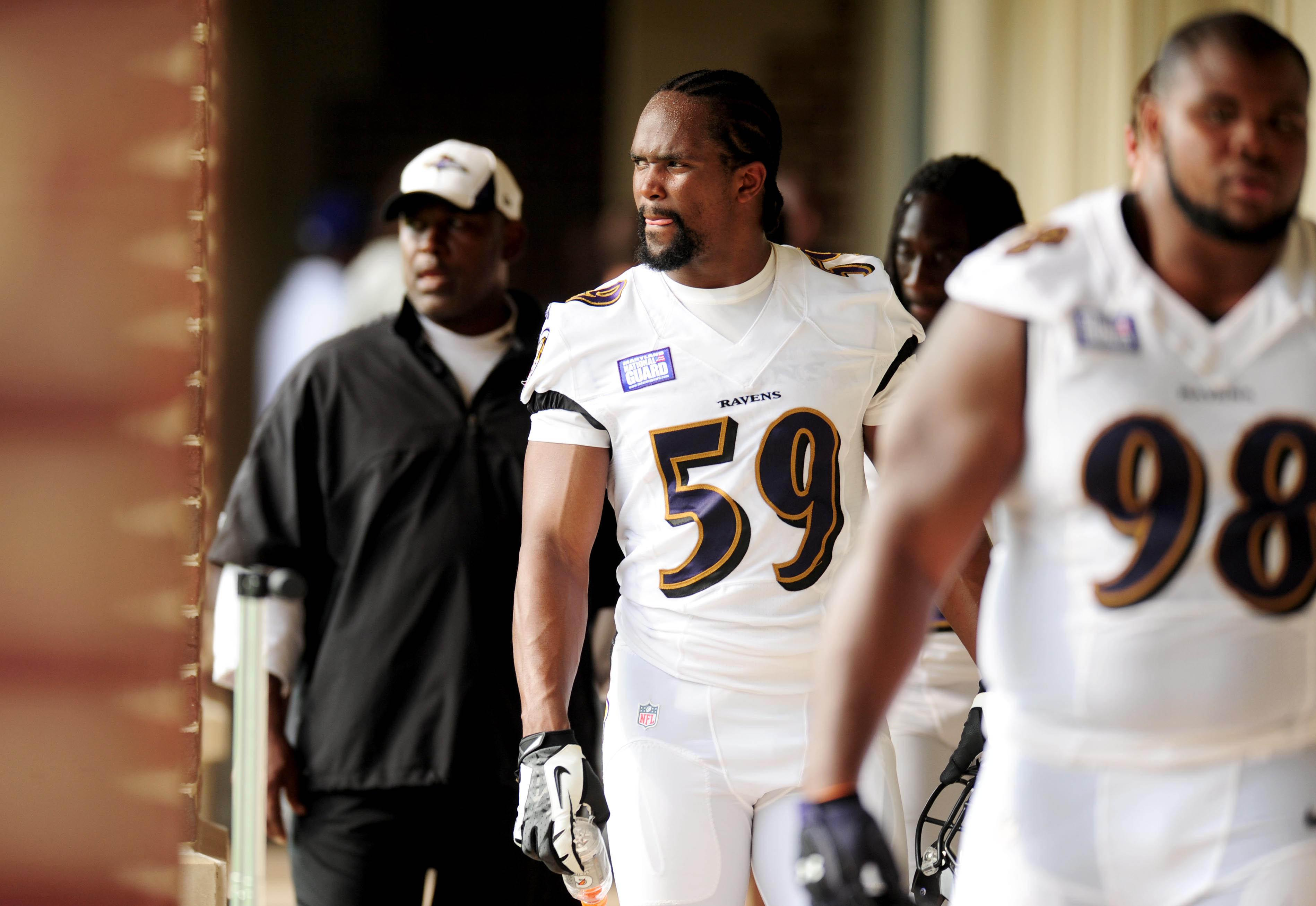 Former Ravens 2nd round pick fights to secure roster spot