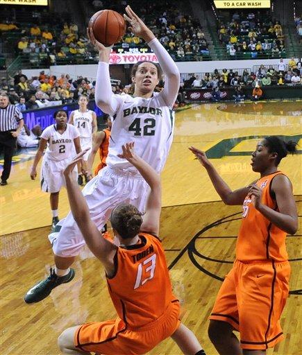 Pope leads No. 2 Baylor women to rout of Cowgirls