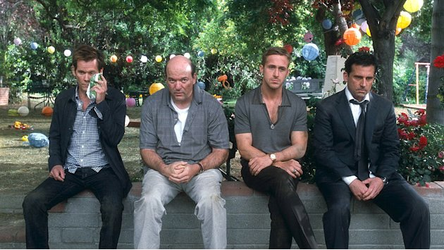 Crazy Stupid Love 2011 Warner Bros Pictures Kevin Bacon John Carroll Lynch Ryan Gosling Steve Carell