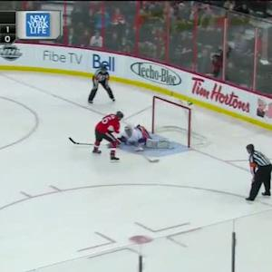 Evgeni Nabokov denies Ryan in shootout