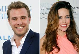 Billy Miller, Amelia Heinle | Photo Credits: Gregg DeGuire/PictureGroup; Michael Caulfield/WireImage.com