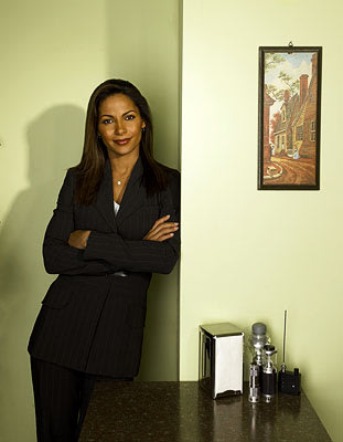 "Salli Richardson-Whitfield as Allison Blake Sci-Fi's ""Eureka"""