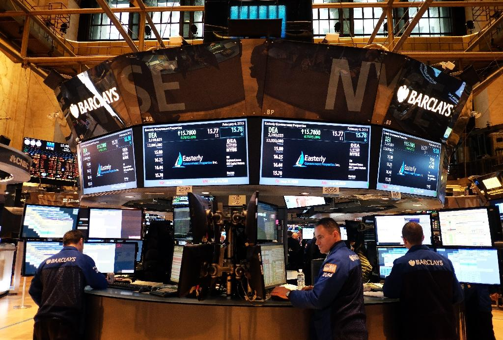 US stocks drop on final day of first quarter