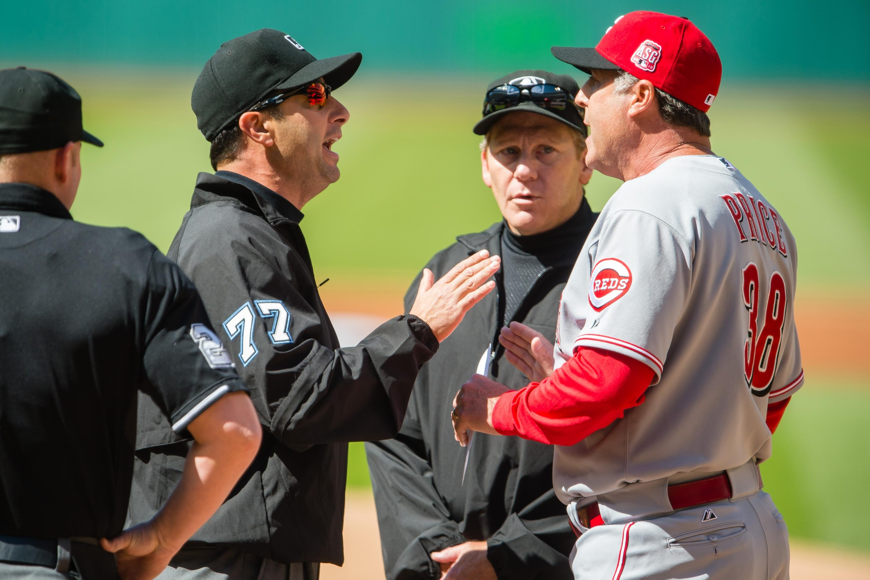 Reds manager Bryan Price ejected before game against Indians