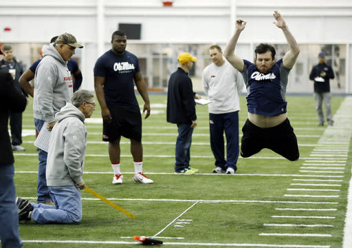 Golson, Prewitt on display at Ole Miss pro day