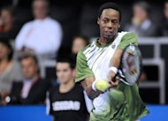 France's Gael Monfils, pictured here at the ATP Moselle Open on September 22. Completing the big names at the Thailand Open is Monfils who will continue his comeback after nearly four months sidelined with a knee injury