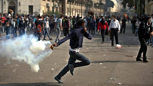Egypt Protests President's Power Grab