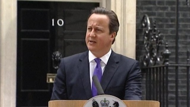 "Britain to ""stand against violent extremism and terror"""