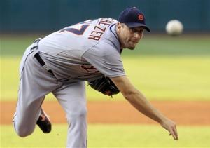 Scherzer wins 4th straight as Tigers beat Indians