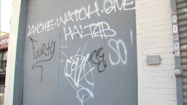 Bronx business owners worried about graffiti problem