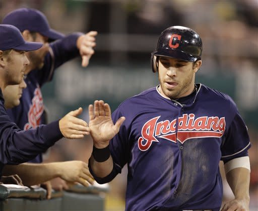 Indians win again on the road, beat A's 5-1