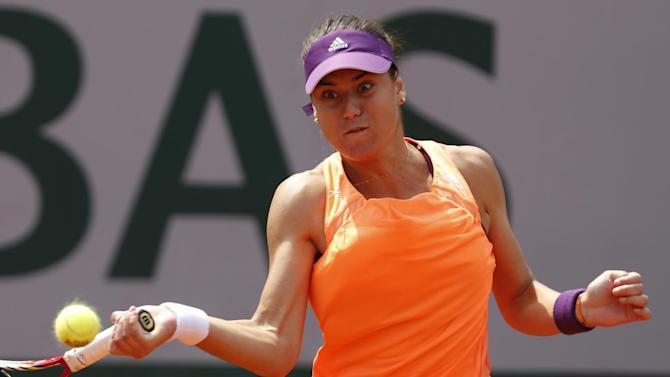 Top seed Cirstea falls, Svitolina advances in Baku