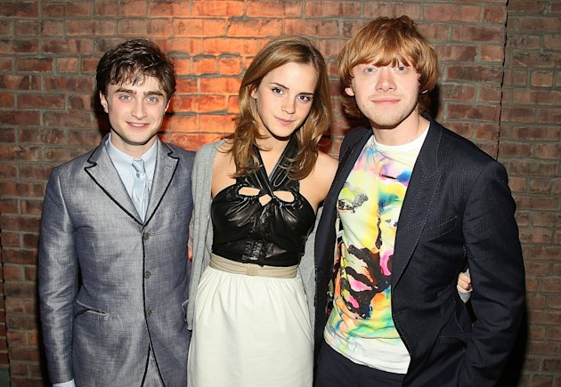 Harry Potter and the Half Blood Prince NY Premiere 2009 Daniel Radcliffe Emma Watson Rupert Grint