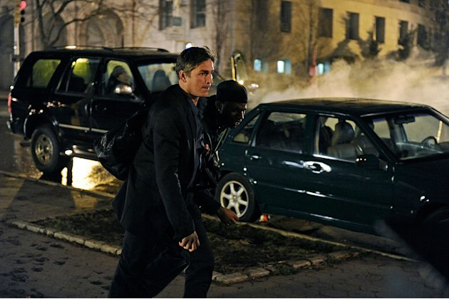"Jim Caviezel in ""Person of Interest."""