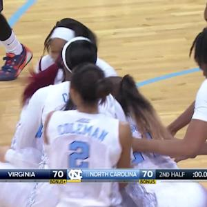 Mavunga's Buzzer Beater Lifts UNC on Senior Night | ACC Must See Moment