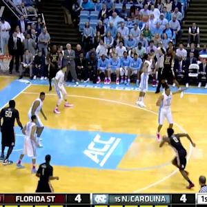 Best Of FSU Freshman Xavier Rathan-Mayes vs UNC