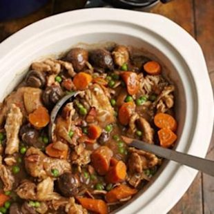 Slow-Cooker Stout & Chicken Stew for the Super Bowl