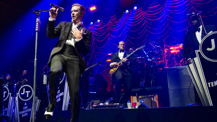 Justin Timberlake brings smooth moves to NYC