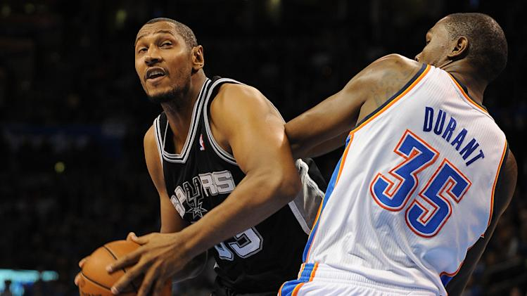 NBA: San Antonio Spurs at Oklahoma City Thunder
