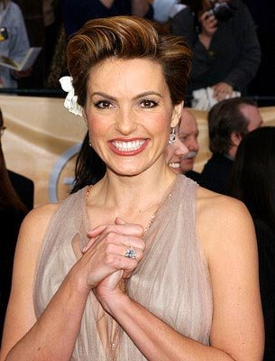 Mariska Hargitay Screen Actors Guild Awards 2/22/2004