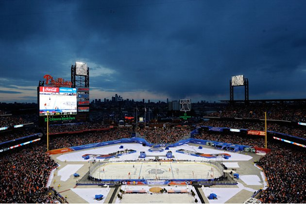   The Philadelphia Flyers Take On The New York Rangers Getty Images