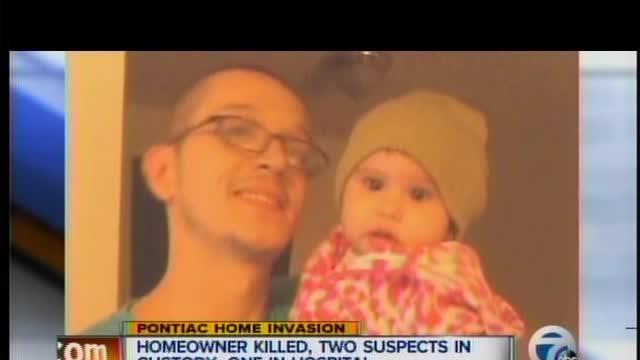 Homeowner killed, two suspects in custody, one in hospital