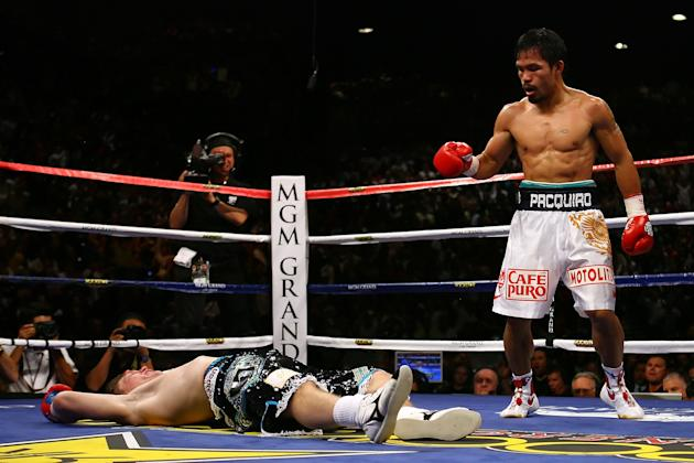 15. Manny Pacquiao KO2 Ricky Hatton, May 2, 2009 – Hatton was expected to provide a stiff test for Pacquiao, but he was completely outclassed. He entered the fight with a 45-1 record, but was battered