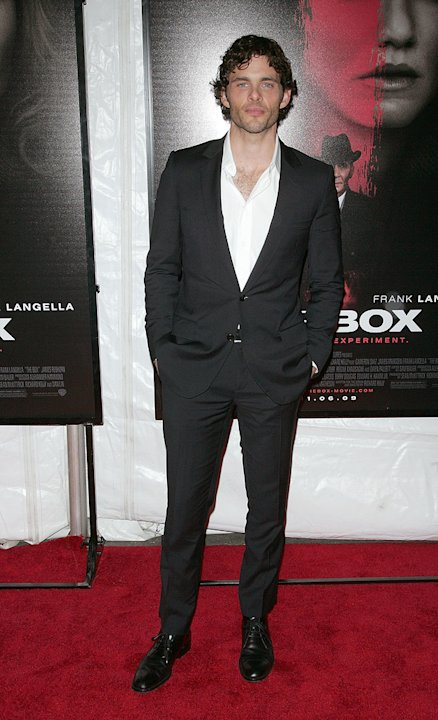 The Box NY Premiere 2009 James Marsden