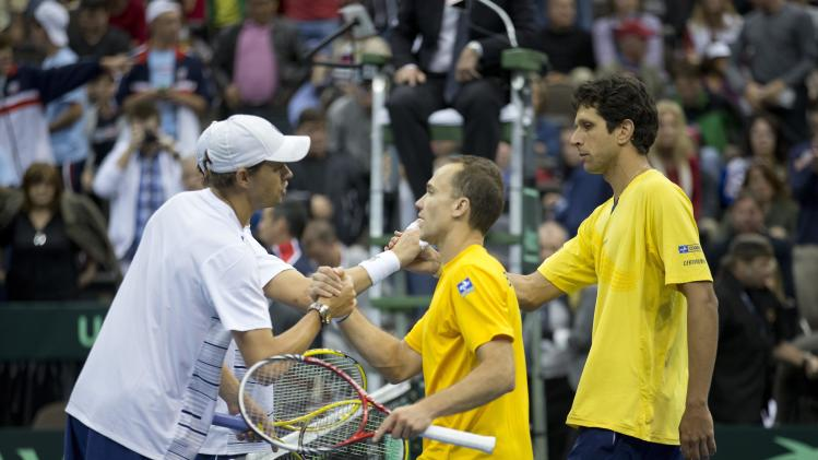 TENNIS: Davis Cup-USA vs Brazil