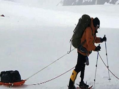 Wounded warriors climbing Mount McKinley