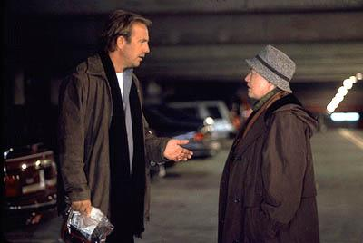 Kevin Costner and Kathy Bates in Universal's Dragonfly