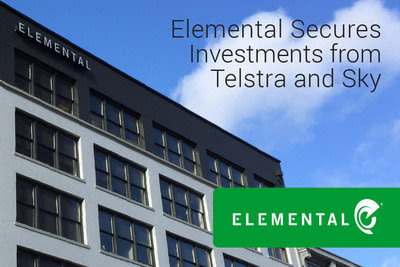 Elemental secures $14.5 million in financing led by Australian telco leader Telstra. Europe