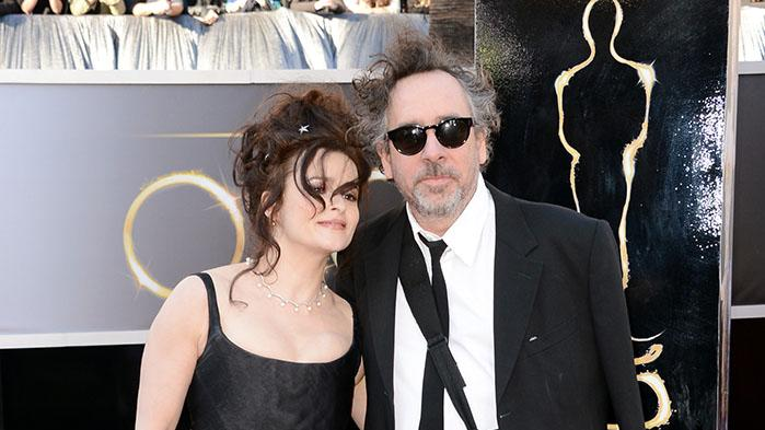 85th Annual Academy Awards - Arrivals: Helena Bonham Carter and Tim Burton
