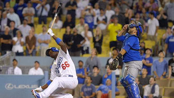 Dodgers beat Cubs 4-0 with Nolasco and 2 homers