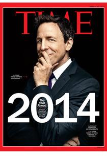 Seth Meyers, Time Magazine | Photo Credits: Time Magazine