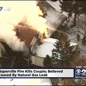 Couple Found Dead After Naperville House Fire