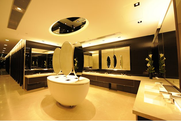 Singapore's top mall restrooms Ion