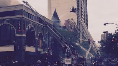 CFD: Adobo Grill Kitchen Started Blaze That Damaged Second City Offices