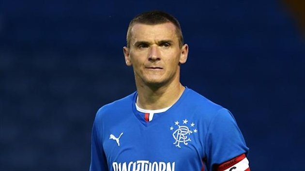 Lee McCulloch scored from the penalty spot against Stranraer