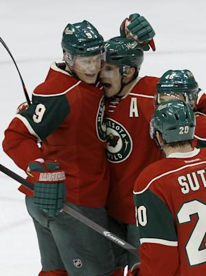 Wild top Canucks 3-2 to stop winning streak at 7