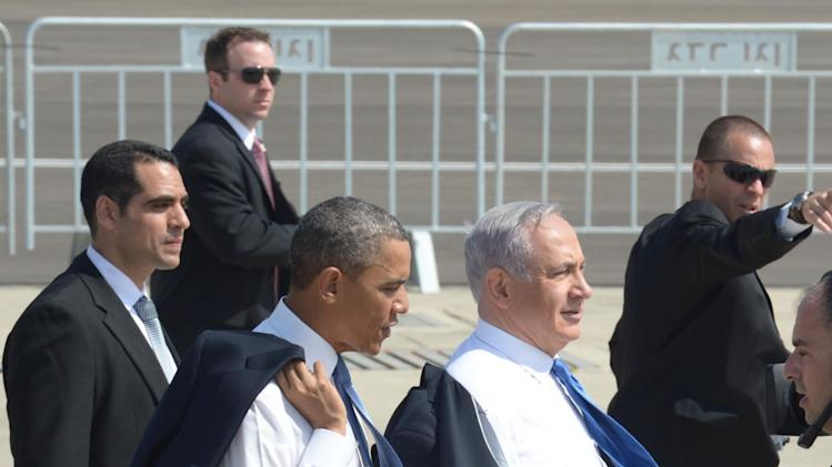 President Obama's Official Visit To Israel And The West Bank Day One